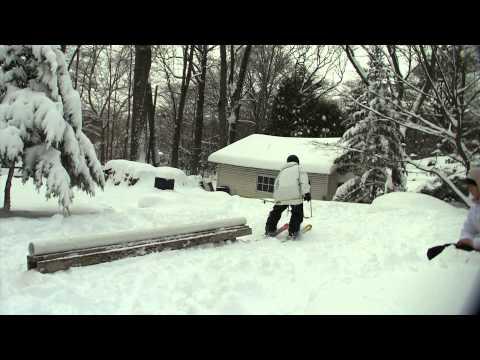Backyard Ski Setup