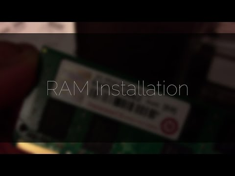 Unboxing and Installation: (Transcend 2GB, 667mHz, 200Pin, DDR2)(MacBook Pro A1150)