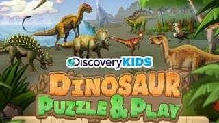 Discovery Kids Dinosaur Puzzles and Play | Educational Puzzle App for Kids