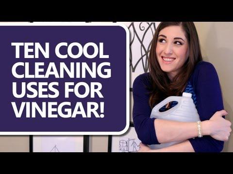 10 Ways to Clean With Vinegar! (Clean My Space)