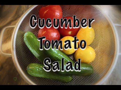 How to make Cucumber Salad | Persian Recipe
