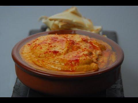 Spiced Red Pepper Hummus | New Season | Cooksmart | Sanjeev Kapoor Khazana