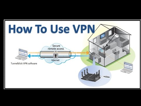 how to use a vpn !! using a vpn at home