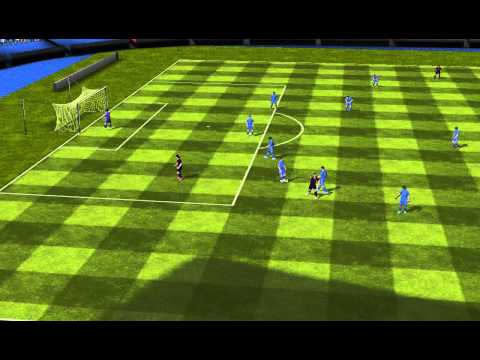 FIFA 14 Android - Messi FCB VS Real Madrid
