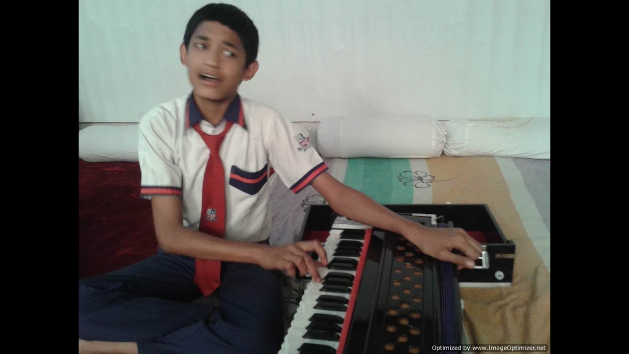 Raag Kirwani - Solo Harmonium by a 12 years old child Master Nishad