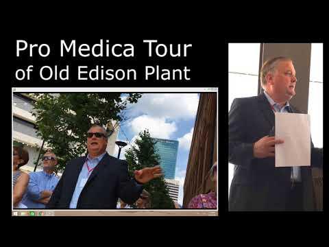 Toledo Pro Medica Tour of Old Edison Steam plant