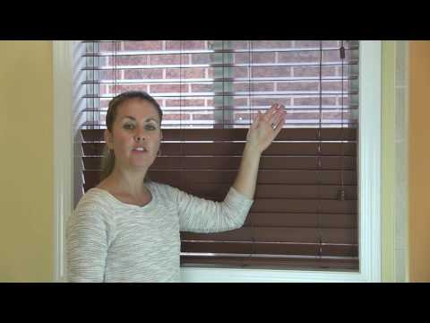 Milton Blinds - Expert Tip for Faux Wood Blinds