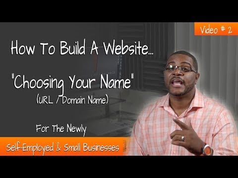 Choose The Right Name For Your Website