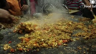Indian Street Food - Street Food in Mumbai - Anda Bhurji