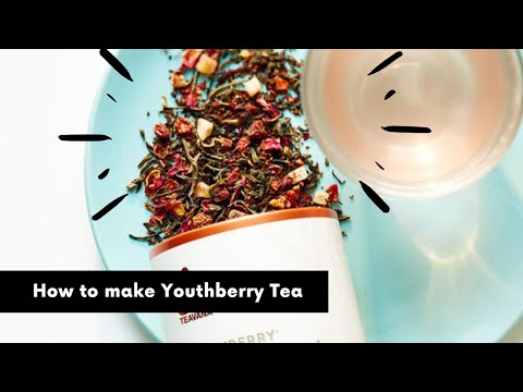 How to make Youthberry Tea ?