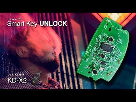 Hyundai i20 Smart Key Unlock | Key Renew | Using KD-X2
