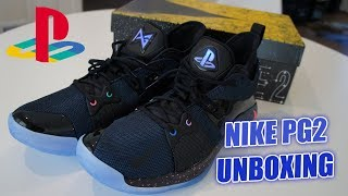 9a8b839d6a0 Unboxing PG-2 Paul George PlayStation Nike Shoes