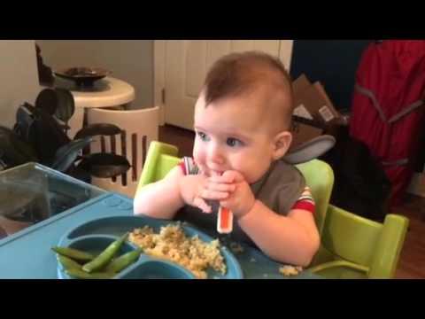 Baby led weaning - quinoa