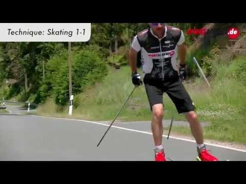Roller Skiing Cross Skating Skike Technique Skating 1 1 by www.sportalbert.de