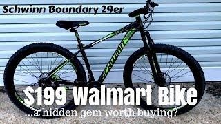 $199 Walmart Schwinn Boundary 29er - A cheap mountain bike that works?