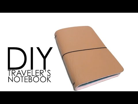 DIY - Traveler's Notebook