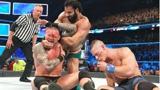 John Cena vs Randy Orton vs Jinder Mahal | Full Match HD