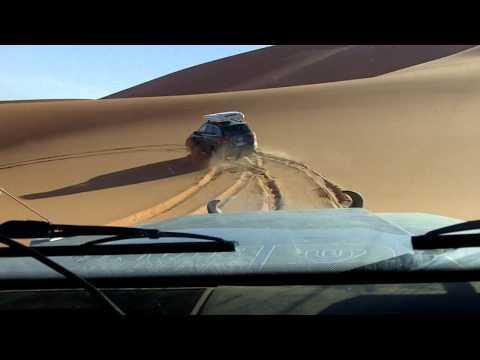 LIBYA SAND DUNES DRIVING - MURZUQ AREA