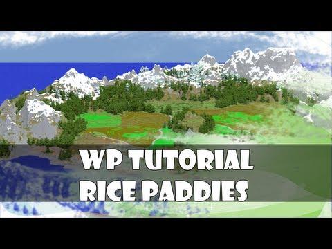 Worldpainter tutorial: Rice Paddies
