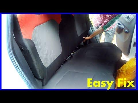 Rear Seat Rattling or Vibration Fix - DIY - Renault Kwid - RicTheCarLover