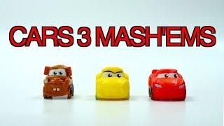 Disney Cars 3 MASHEMS Surprise Toys Set Mater Lightning McQueen Jackson Storm Pixar Toys