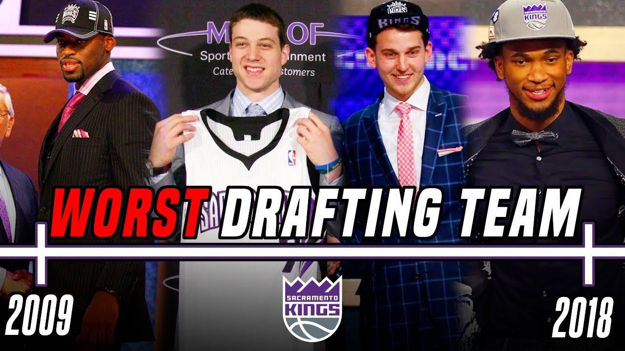 Why The Sacramento Kings are The WORST Drafting NBA Team Of The Decade