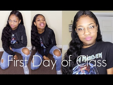 GRWM First day of Class (College Freshman)