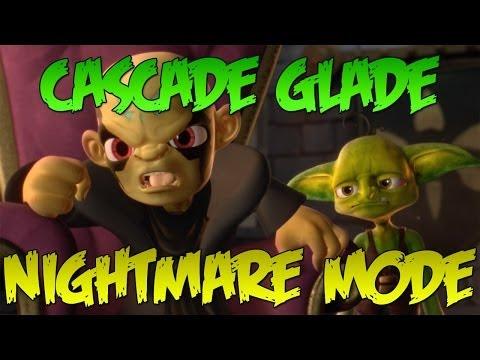 Skylanders Swap Force: Cascade Glade (Nightmare Mode) - Part 1