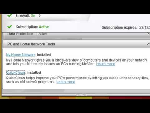 Así funciona McAfee Antivirus Plus 2013
