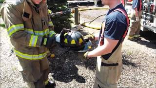 Fire Helmet Cleaning