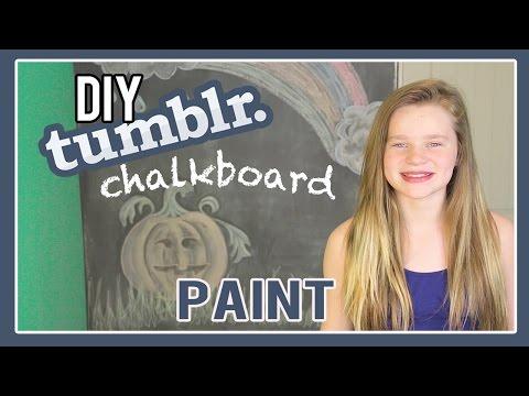 DIY Chalkboard Paint | My Tumblr Bedroom