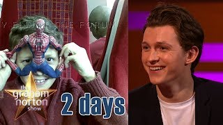 Tom Holland Has Always Been A Spiderman Fan   The Graham Norton Show