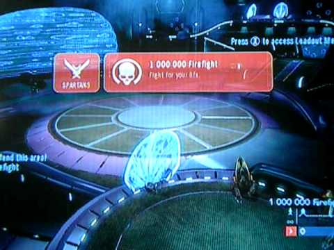 Halo Reach : How To Get 1 Million Points in FireFight Quick