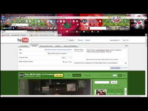 How To Set Up A YouTube Channel or YouTube Account