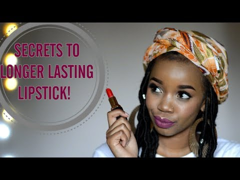 5 SIMPLE HACKS TO GET YOUR LIPSTICK TO LAST ALL DAY!