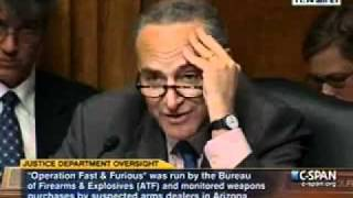 Schumer: Fast and Furious started under Bush