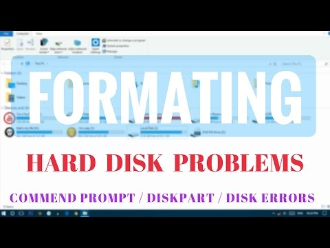 How to use DiskPart to clean and format a storage drive not working on Windows 10 | TecHelper
