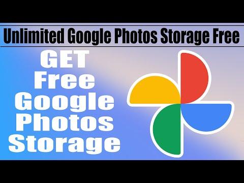 Google Photos Unlimited Storage Free