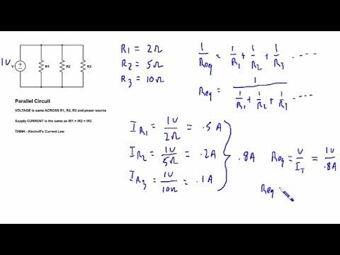 Parallel Circuit Math Tutorial