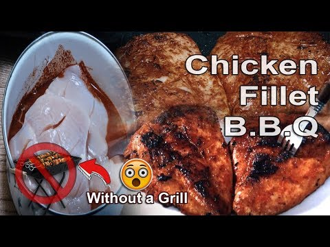 Chicken fillet BBQ - Without BBQ Grill