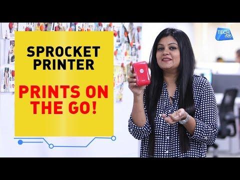 HP Sprocket Printer: Print on the go   Tech Tak