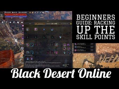 black desert online skill points
