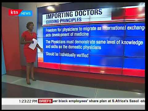 Here are the specializations of Cuban doctors who are set to work in Kenya | KTN News Desk