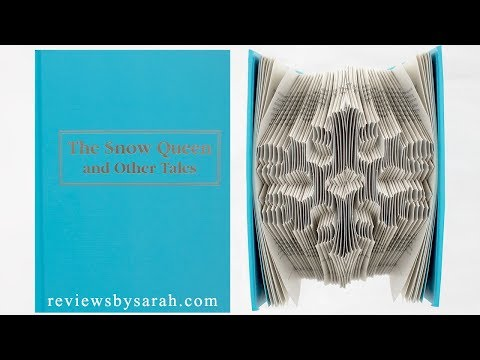 Book Folding Tutorial - Paper Page Folded Sculpture Art