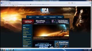 StarcraftArena.net Website LAUNCH DETECTED!!