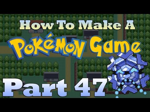 How To Make a Pokemon Game in RPG Maker - Part 47: Ice Puzzles
