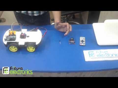 IR Car Control - Arduino Egypt