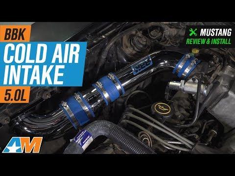 1986-1993 Mustang 5.0L BBK Cold Air Intake Review & Install