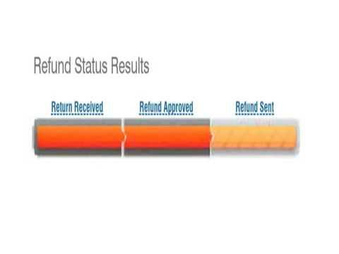 Tax refund track