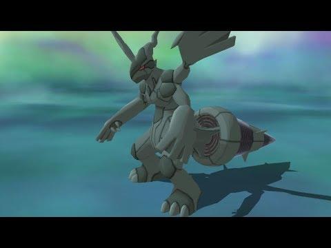 Pokemon Ultra Moon - Legendary Pokemon Zekrom Encounter